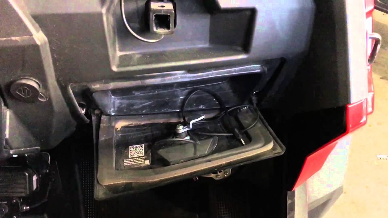 Polaris Rzr Turbo Ssv Front 10 Sub Box