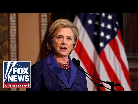 Hillary Clinton claims 2016 election was 'stolen' from her