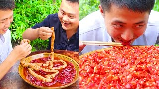 ASMR Chinese Spicy Food Challenge #14