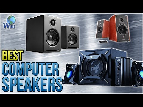 10 Best Computer Speakers 2018