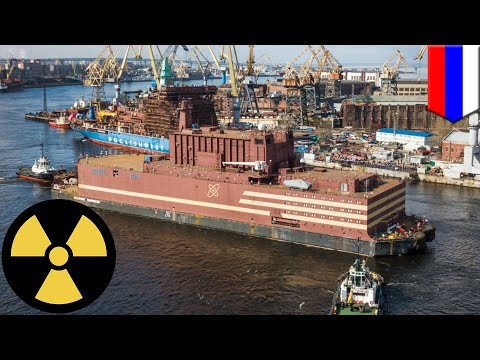 Russia launches its first floating nuclear power plant  - TomoNews