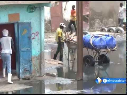 Reportage: Les pluies à Nouakchott || El Mourabitoun TV