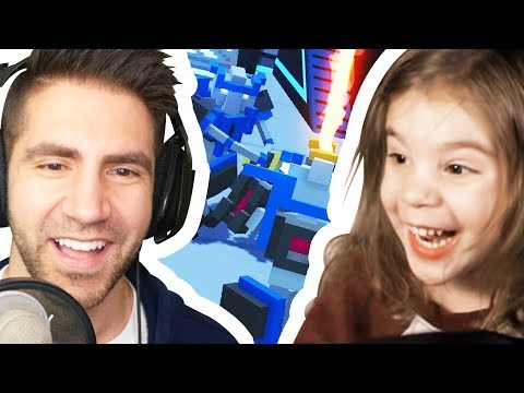 NEW CLONE DRONE MULTIPLAYER WITH MY NIECE! - Clone Drone in the Danger Zone Part 14 | Pungence