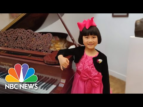 This 7-Year-Old Pianist Is Lifting Spirits One Note At A Time   Nightly News: Kids Edition