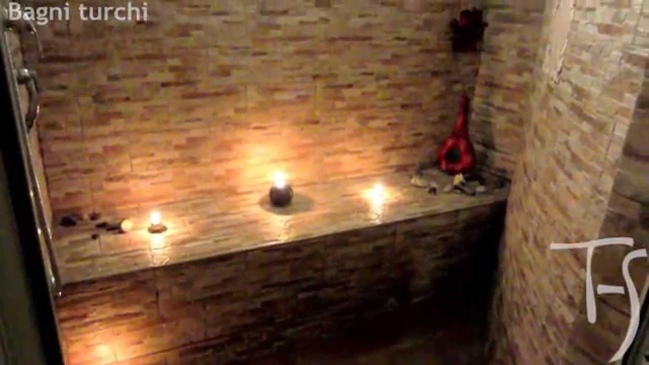 Bagno turco con doccia e cromoterapia progettazione e