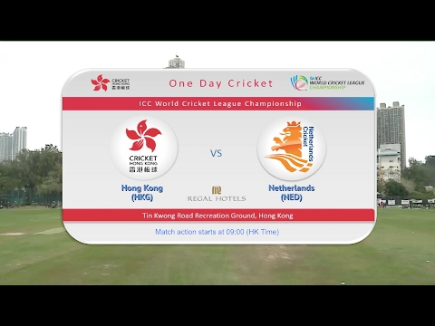 Hong Kong vs Netherlands -  ICC WCLC match 2