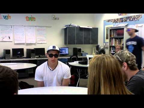 Johnny Johnson Interview and Harlem Shake - Dirigo High School