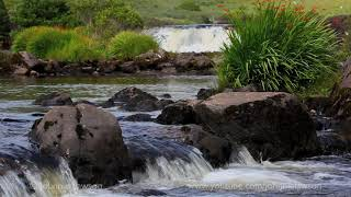 20min Nature Sounds Meditation- Relaxing Waterfall W/O Birdsong-Sound of Water-Nature Relaxation