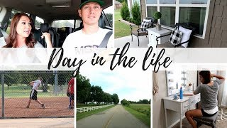 DAY IN THE LIFE | HOUSEWORK & SOFTBALL | CAR CHAT FINANCE Q&A