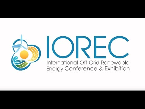 International Off-grid Renewable Energy Conference (IOREC) 2016