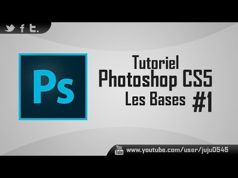 #1 [Tutoriel] Les bases de Photoshop CS5