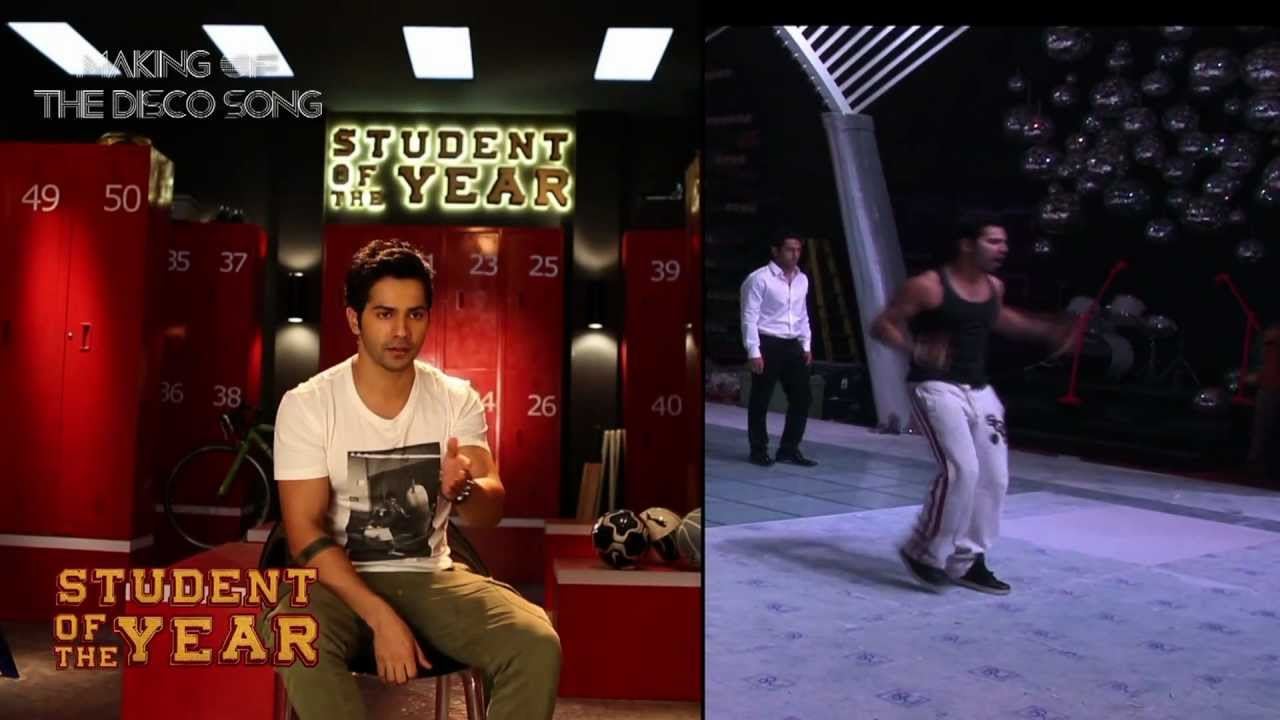 disco deewane song download student of the year