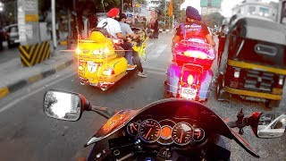 Chasing Real FAST yellow GOLDWING