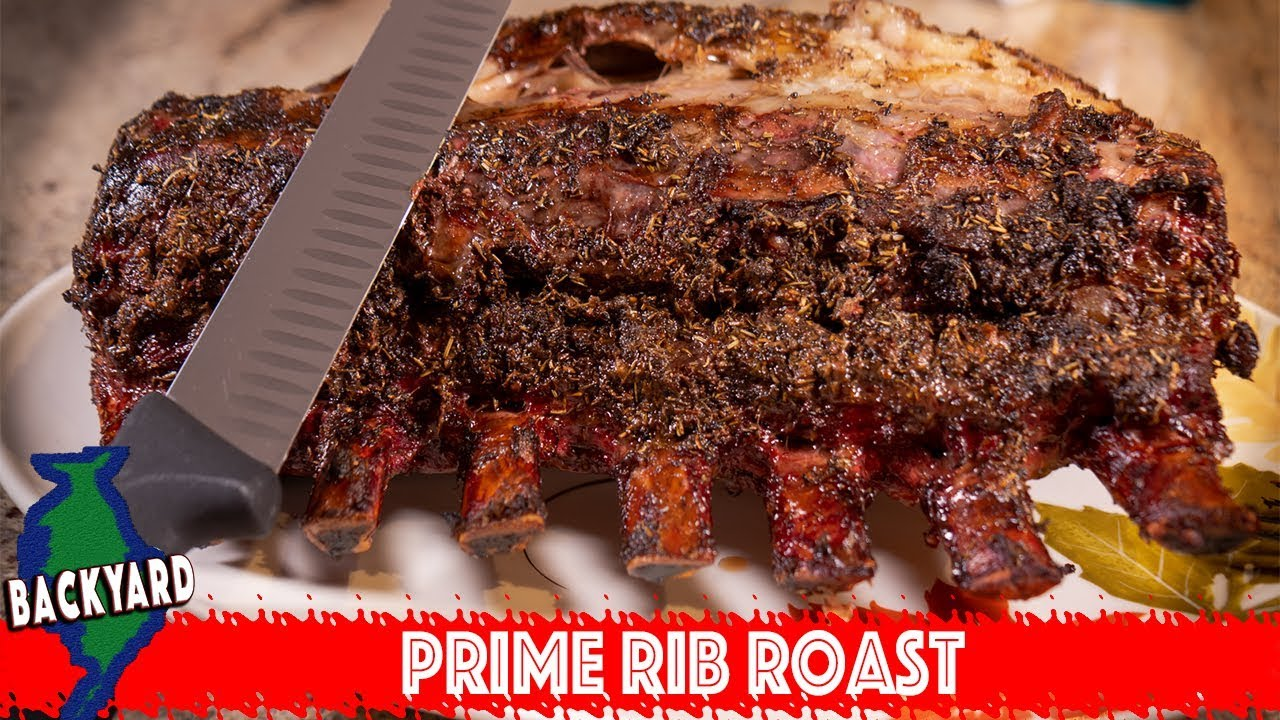 how to cook prime rib steak on the bbq