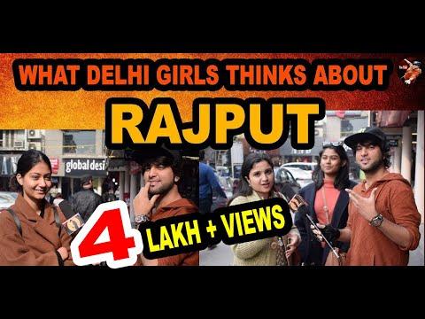 WHAT DELHI CUTE GIRLS THINKS ABOUT RAJPUT | DELHI GIRLS REACTIONS | madnesswithmanish