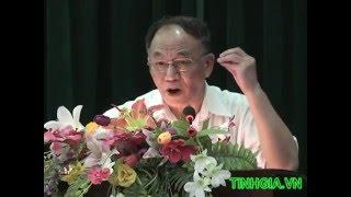 Kể chuyện Bác Hồ hay nhất -  GS  Hoàng Chí Bảo nói chuyện tại Tĩnh Gia (phần 2)