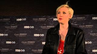 Game of Thrones Season 4: Gwendoline Christie on Why Brienne Should #TakeTheThrone (HBO)