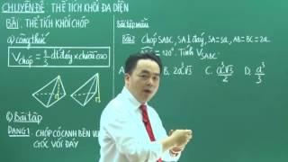 [PEN-C - Thầy Lê Bá Trần Phương] Thể tích khối chóp