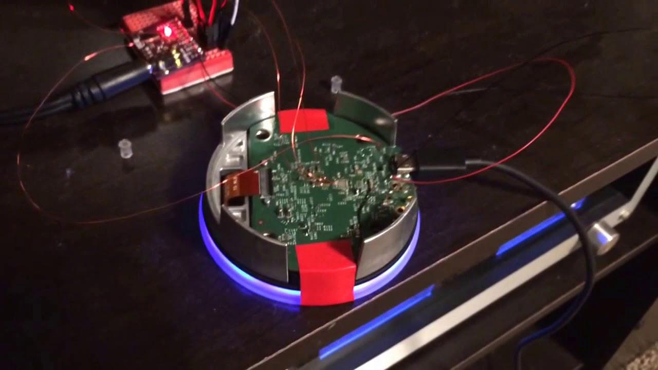 Hacked Amazon Echo Dot - External DAC Proof of Concept - YouTube