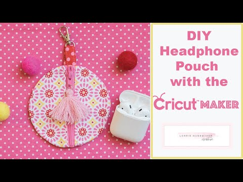 Ear Bud Case With Cricut Maker Or Cricut Explore
