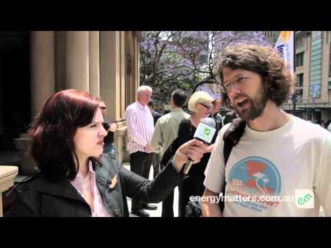 Sydney Solar Power Rally - Interviews