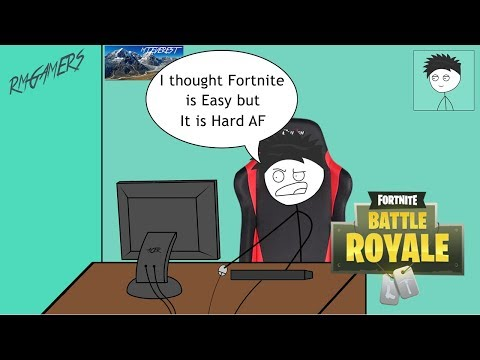 When a PUBG Gamer Tries Fortnite for the First Time