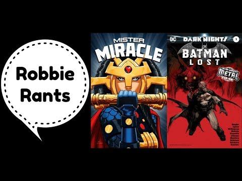 Weekly Comic Book Review 11/08/17 - Robbie Rants #136