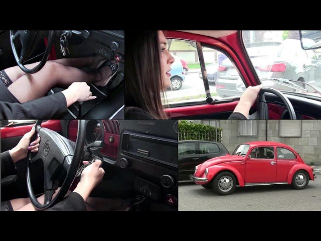 Miss Iris The Wv Beetle Driving Stalling And Cranking Trailer Pedal Pumping