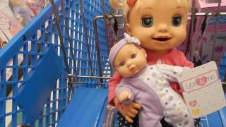 Baby Alive Emma Goes To Toys R Us! Toy Hunting!