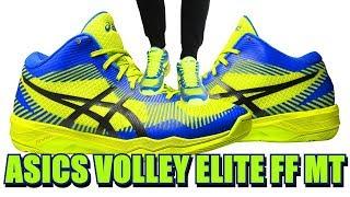 Кроссовки ASICS VOLLEY ELITE FF MT (Асикс волейбольные) обзор
