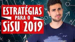 TUDO SOBRE O SISU 2019 - Estrategias 1a2a Opcao Lista de Espera Notas de Corte