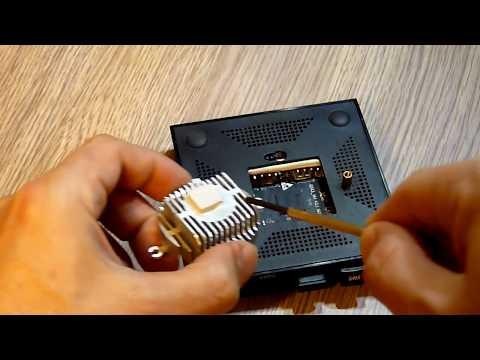 Эффективное охлаждение TV бокс X96 Max+