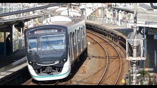 【東急電鉄】新鋭2020系 東武スカイツリーライン  堀切駅を通過