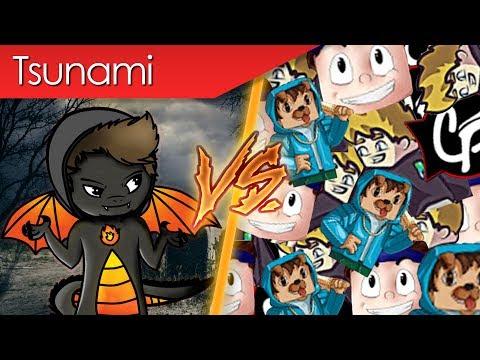Schlechte Youtuber Tsunami VS Firegoden