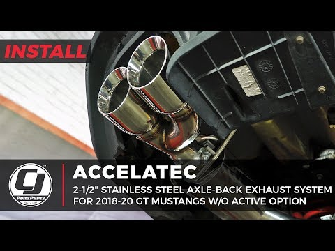 """2018-2020 Mustang GT Install 