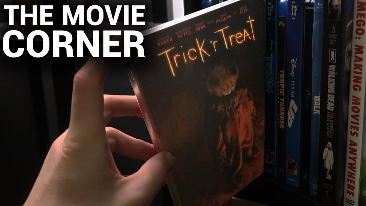 Trick 'R Treat Blu-Ray Steelbook Unboxing (FYE Exclusive) | The Movie Corner Ep. 3