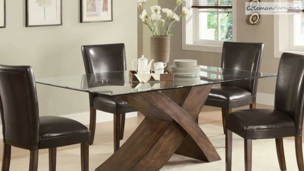 Nessa dining room collection from coaster furniture youtube for Dining room tables you tube