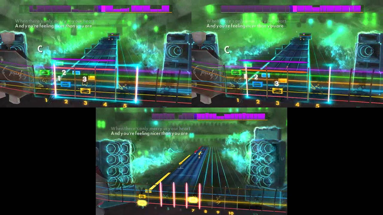 rocksmith 2014 band of merrymakers must be christmas lead rhythm bass youtube. Black Bedroom Furniture Sets. Home Design Ideas