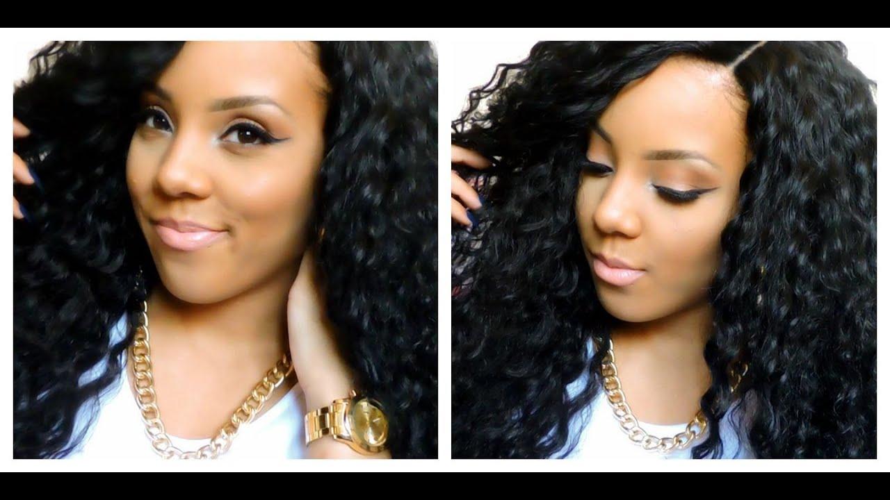 Brazilian Hair Style: Outre Lace Front Batik Bundle Hair Style Peruvian