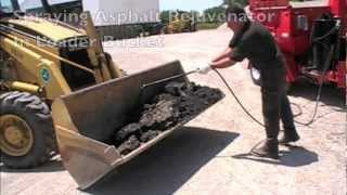 Asphalt Recycling Demonstration Featuring the Asphalt Rejuvenator / Release Agent Spray System