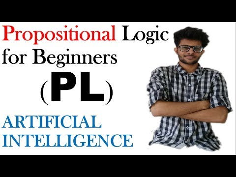 Proposition Logic Statements with example  in English | Artificial intelligence Series