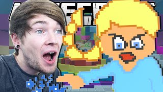 Minecraft | ANGRY ELSA!! | Pixel Painters Minigame