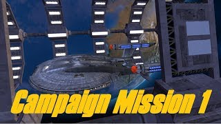 Star Trek Legacy: Ultimate Universe 2.2 - Campaign Mission 1 - SERIOUS GAME MALFUNCTION