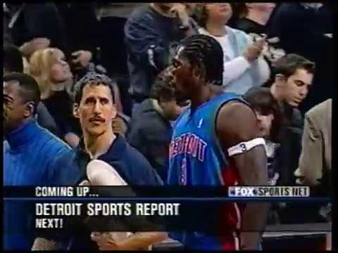 Ben Wallace Caps Wild Sequence with Two Game-Sealing Blocks vs. Raptors (2004)