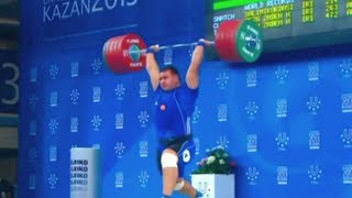 """Best of  Weightlifting """"Russia vs. Iran"""" - 2013"""