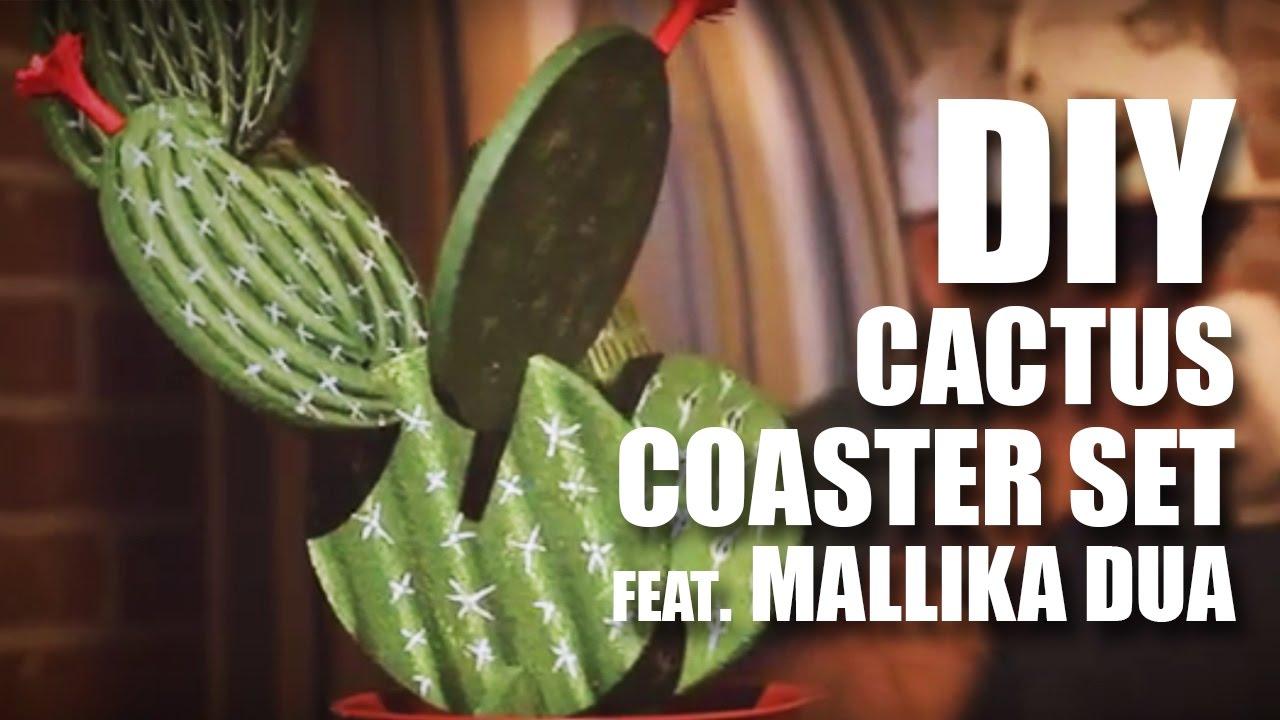 Cactus Coaster Set