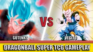 Gotenks (G) vs Vegito (B) | Dragon Ball Super TCG