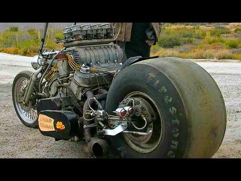 😮 Мотоциклы - СумаСшедшие Самоделки 👏! - Видео онлайн