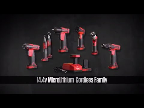 14 4v Microlithium Family Snap On Tools Youtube