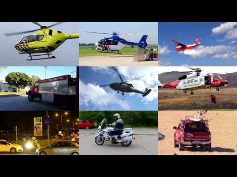 Emergency Vehicles for Kids with Sounds (and videos)